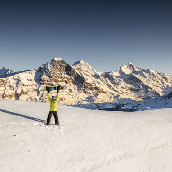 Winterlaken Card - Eiger Mönch Jungfrau