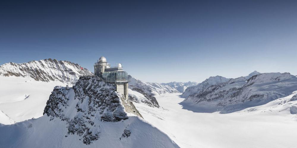 Winterlaken Card - Jungfraujoch