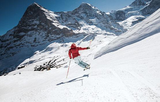 Skifahren und Snowboarden Jungfrau Ski Region - Winterlaken Card