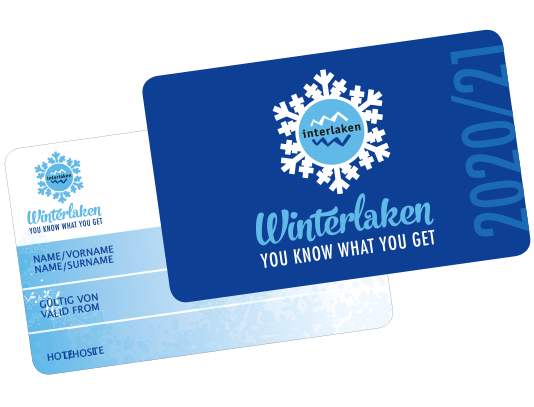 Winterlaken Card - Interlaken